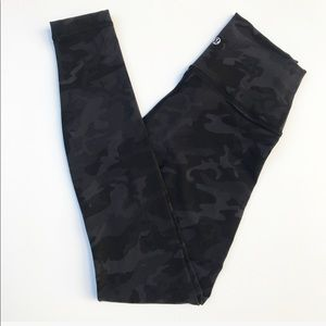 Lululemon High Rise Full Length Camo Wunder Unders